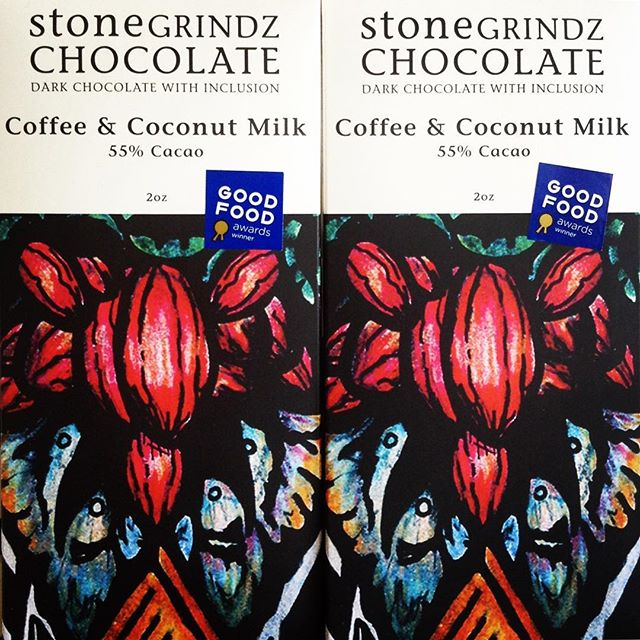 STONEGRINDZ Dark Roast Sierra Coffee & Coconut Milk  This small batch chocolate is sourced from the Ucayali region of Peru, and handcrafted into beautiful bars in Scottsdale, Arizona. Gluten, dairy and soy free! ------------- 3/14/18 #milkfarmlunch •GRILLED CHEESE •CUBANO: roasted pork loin, french ham, house pickles, swiss cheese, roasted garlic aioli, spicy mustard on ciabatta •PORK LOIN -or- TURKEY MELT: sundried tomato fennel relish, roasted garlic aioli, smoked mozzarella, holey cow cheese on multigrain •COOKIES